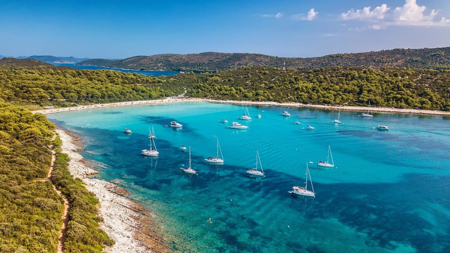zadaras zadar kroatija sakarun papludimys