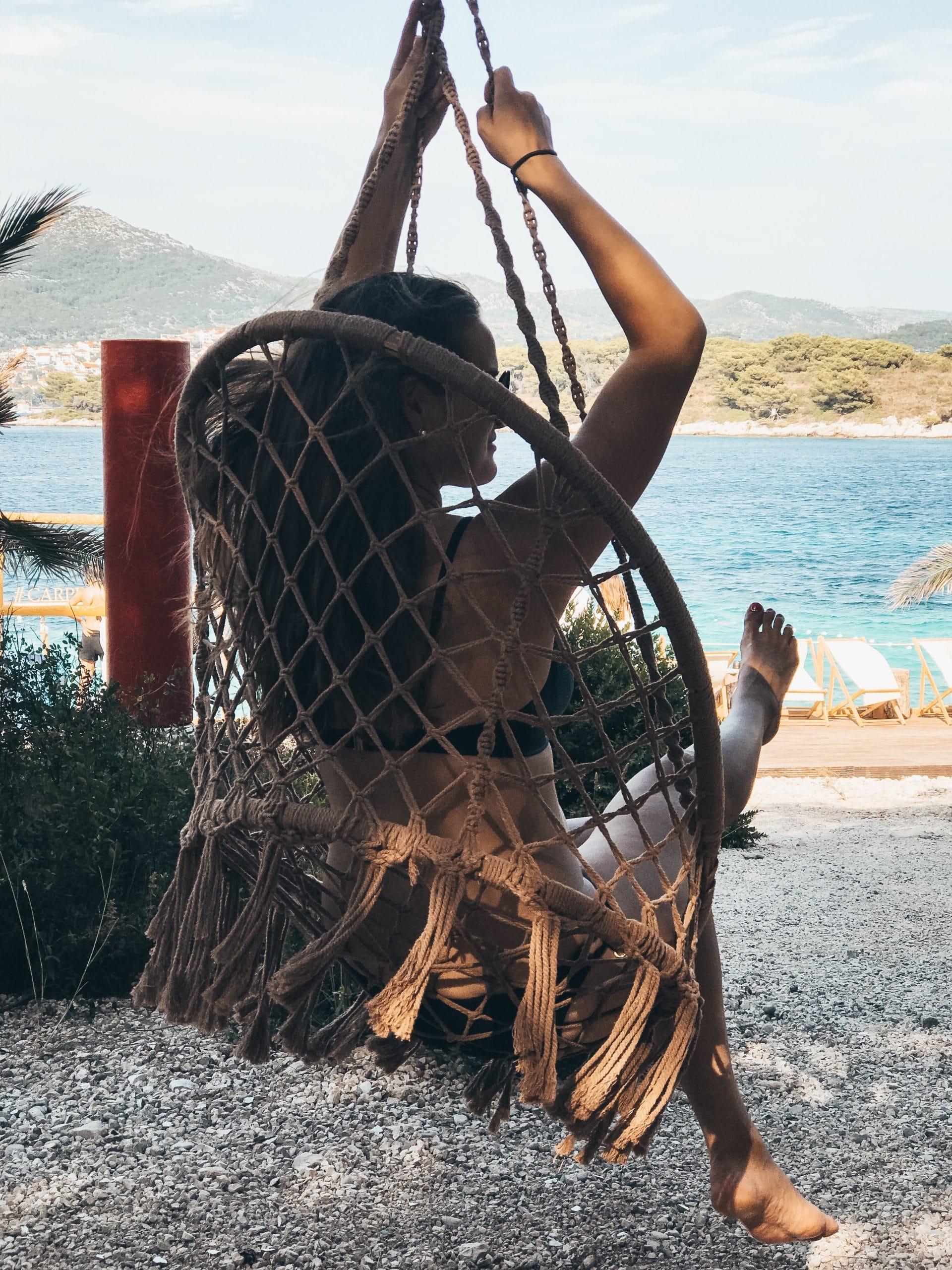 kroatija hvar jerolim sala supynes