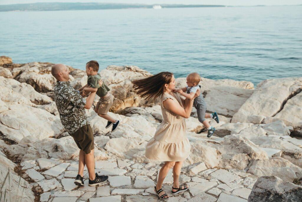 kroatija splitas adrijos jūra