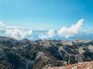 biokovo kroatija kalnai sveti jure