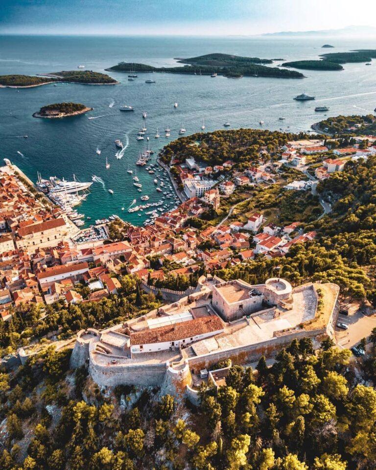 španjola spanish fortress hvar kroatija