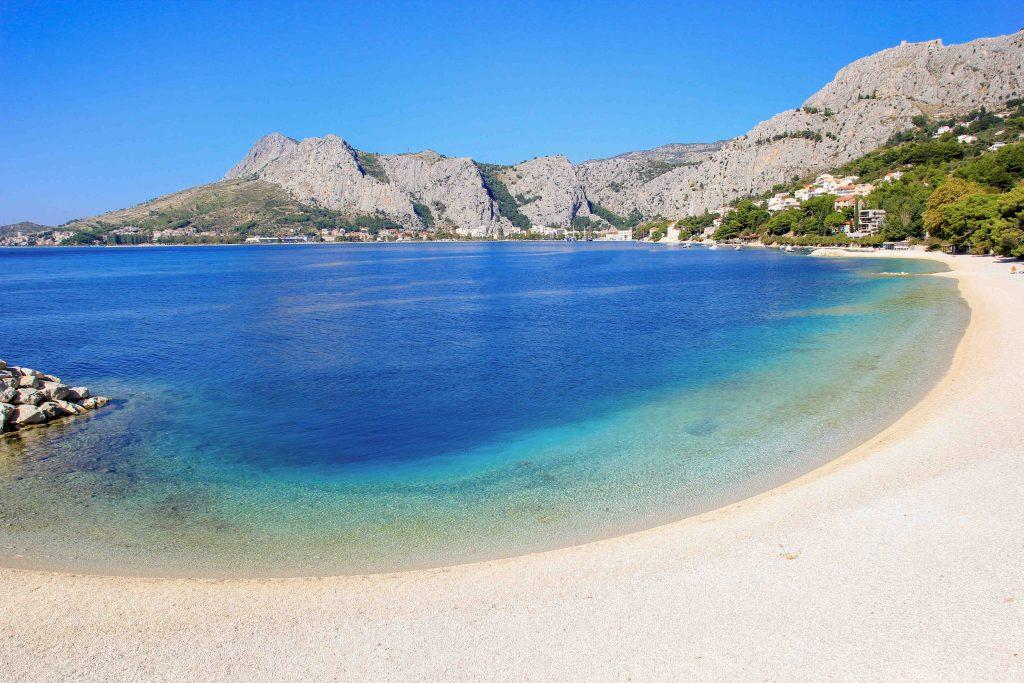 omiš omišas kroatija papludimys