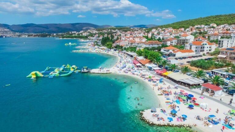 čiovo trogiras kroatija papludimys