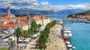 trogir trogiras kroatija
