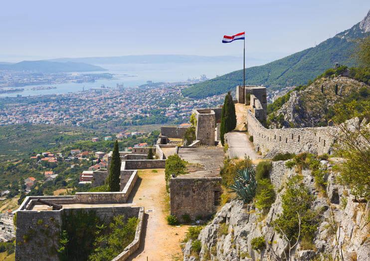 klis splitas kroatija