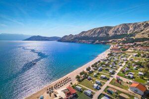 kempingai Kroatijoje stovyklavietes
