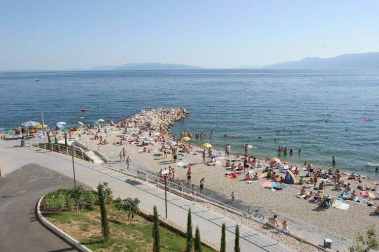 rijeka kroatija papludimys
