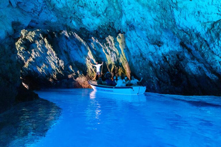 blue cave kroatija turas